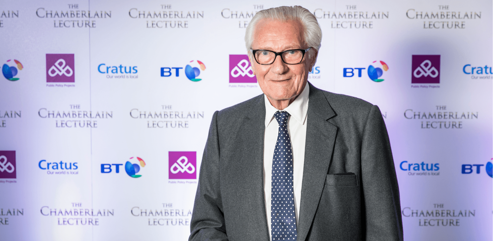 Cratus in conversation with Lord Heseltine